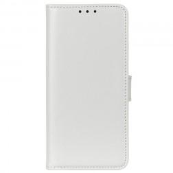 Atverčiamas dėklas, knygutė - baltas (Poco M3 Pro / Redmi Note 10 5G)