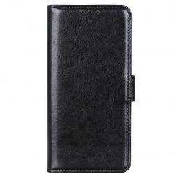 Atverčiamas dėklas, knygutė - juodas (Poco M3 Pro / Redmi Note 10 5G)