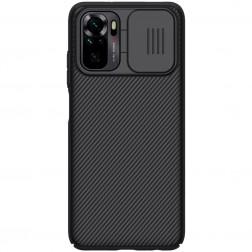 """Nillkin"" CamShield dėklas - juodas (Redmi Note 10S / Note 10 4G)"