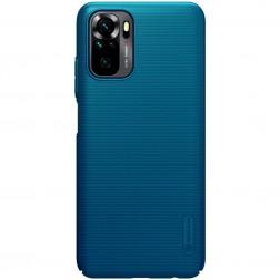 """Nillkin"" Frosted Shield dėklas - mėlynas (Redmi Note 10S / Note 10 4G)"