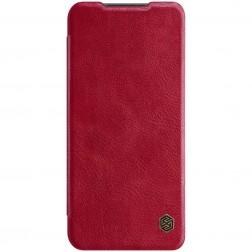 """""""Nillkin"""" Qin atverčiamas dėklas - raudonas (Poco M3 Pro / Redmi Note 10 5G)"""