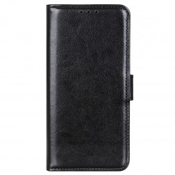 Atverčiamas dėklas, knygutė - juodas (Redmi Note 10 Pro)