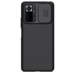 """""""Nillkin"""" CamShield dėklas - juodas (Redmi Note 10 Pro)"""