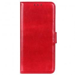 Atverčiamas dėklas, knygutė - raudonas (Poco M3 Pro / Redmi Note 10 5G)