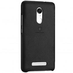"""Lenuo"" Soft Slim dėklas - juodas (Redmi Note 3 / Redmi Note 3 Pro)"