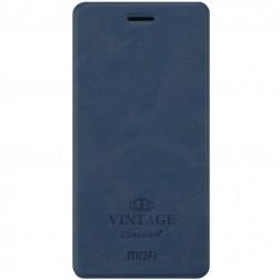 """""""Mofi"""" Vintage atverčiamas dėklas - mėlynas (Redmi Note 4)"""
