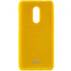 """""""Mercury"""" dėklas - geltonas (Redmi Note 4X)"""