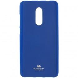 """""""Mercury"""" dėklas - tamsiai mėlynas (Redmi Note 4X)"""