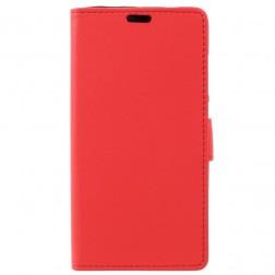 Atverčiamas dėklas, knygutė - raudona (Redmi Note 4X)