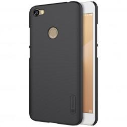 """""""Nillkin"""" Frosted Shield dėklas - juodas + apsauginė ekrano plėvelė (Redmi Note 5A)"""