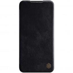 """""""Nillkin"""" Qin atverčiamas dėklas - juodas (Redmi Note 8 Pro)"""