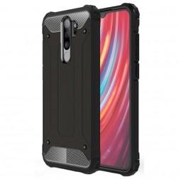 Sustiprintos apsaugos dėklas - juodas (Redmi Note 8 Pro)