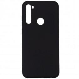 """""""Shell"""" kieto silikono (TPU) dėklas - juodas (Redmi Note 8T)"""