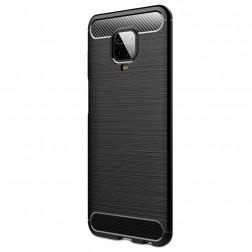 """Carbon"" kieto silikono (TPU) dėklas - (Redmi Note 9 Pro)"