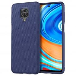 """""""Jazz"""" kieto silikono (TPU) dėklas - mėlynas (Redmi Note 9 Pro)"""