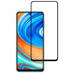 """""""Mocolo"""" Tempered Glass apsauginis ekrano stiklas 0.26 mm - juodas (Redmi Note 9 / Note 9 Pro )"""