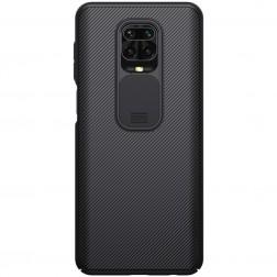 """""""Nillkin"""" CamShield dėklas - juodas (Redmi Note 9 Pro)"""