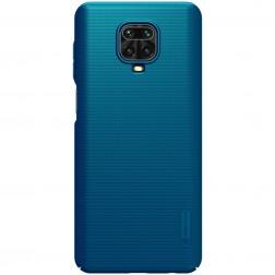 """Nillkin"" Frosted Shield dėklas - mėlynas (Redmi Note 9 Pro)"