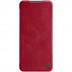 """""""Nillkin"""" Qin atverčiamas dėklas - raudonas (Redmi Note 9 Pro)"""