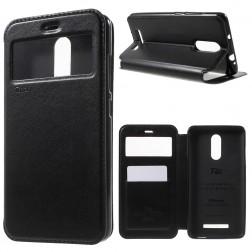 """""""Roar"""" Noble atverčiamas dėklas - juodas (Redmi Note 3 / Redmi Note 3 Pro)"""