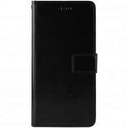 Atverčiamas dėklas, knygutė - juodas (Redmi Note 8 Pro)