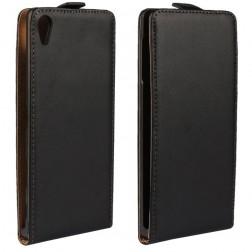 Klasikinis atverčiamas dėklas - juodas (Xperia Z5 Premium)