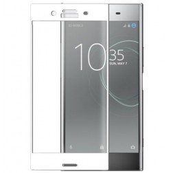 """3D Rewan"" Tempered Glass apsauginis ekrano stiklas 0.26 mm - baltas (Xperia XZ Premium)"