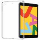 """Apple iPad 10.2"""" (2019) kieto silikono TPU skaidrus dėklas - nugarėlė"""