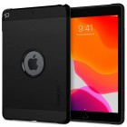 Apple iPad 10.2 (2019) Spigen Tough Armor sustiprintos apsaugos dėklas - juodas - nugarėlė