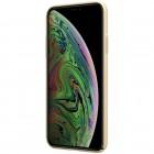 Nillkin Frosted Shield Apple iPhone 11 aukksinis plastikinis dėklas