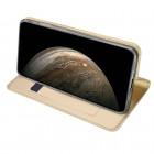"""""""Dux Ducis"""" Skin serijos Apple iPhone 11 Pro auksinis odinis atverčiamas dėklas"""