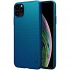 Nillkin Frosted Shield Apple iPhone 11 Pro Max mėlynas plastikinis dėklas