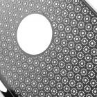 Stilingas sidabrinis, metalinis Apple iPhone SE (5, 5s) dėklas (dėkliukas) raižytas gėlytėmis