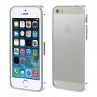 Stilingas sidabrinis Apple iPhone SE (5, 5s) rėmelis - kraštų apvadas (bamperis)