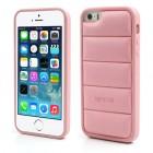 """Rožinis """"Infisens"""" silikoninis Apple iPhone SE (5, 5s) dėklas"""