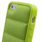 """Žalias """"Infisens"""" silikoninis Apple iPhone SE (5, 5s) dėklas (dėkliukas)"""