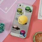 """Apple iPhone 5, 5s ir SE """"Squezy"""" Yolk kieto silikono TPU skaidrus dėklas - nugarėlė"""