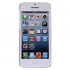 Ploniausias pasaulyje Baseus plastikinis skaidrus Apple iPhone 5C baltas dėklas - nugarėlė