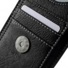 Universali juoda vertikali odinė įmautė (L dydis)