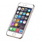 Apple iPhone 6s Plus Devia Crystal Rococo Swarovski plastikinis skaidrus permatomas auksinis dėklas su kristalais