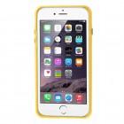 Apple iPhone 6 Plus (6s Plus) skaidrus permatomas rėmelis (kraštų apvadas, bamperis) - geltonas