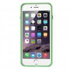 Apple iPhone 6 Plus (6s Plus) skaidrus permatomas rėmelis (kraštų apvadas, bamperis) - žalias