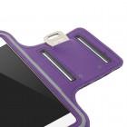 Dėklas sportui (raištis ant rankos) - violetinis, universalus (L dydis)