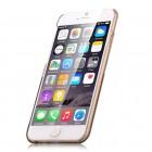 Apple iPhone 6 (6s) Devia Crystal Fashion Swarovski plastikinis skaidrus permatomas auksinis dėklas su kristalais