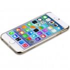 Apple iPhone 6 (6s) Devia Love&Fun plastikinis skaidrus permatomas auksinis dėklas