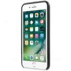Soft Slim serijos Apple iPhone 7 (iPhone 8) juodas odinis dėklas - nugarėlė