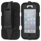 """""""Griffin"""" Survivor juodas Apple iPhone SE (iPhone 5, iPhone 5S) dėklas (dėkliukas)"""