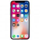 Apple iPhone X (iPhone Xs) Nillkin Nature plonas skaidrus (permatomas) silikoninis TPU pilkas dėklas
