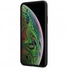 """Appe iPhone 11 """"Nillkin"""" Frosted Shield Logo juodas plastikinis dėklas, nugarėlė"""