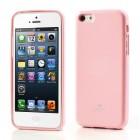 """""""Mercury"""" Color kieto silikono (TPU) rožinis Apple iPhone 5C dėklas (dėkliukas)"""